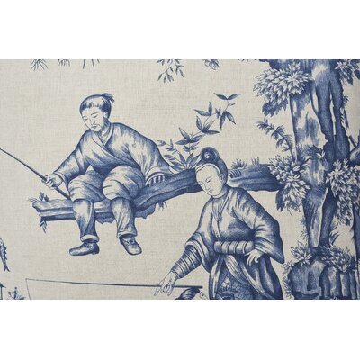 Shengyou Toile Throw Pillow