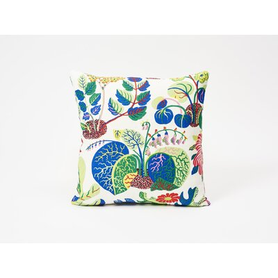 Exotic Butterfly Linen Throw Pillow