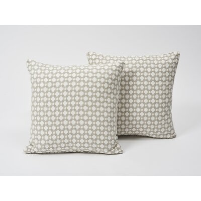 Betwixt Cotton Throw Pillow