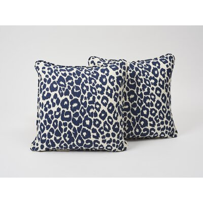 Iconic Leopard Linen Throw Pillow