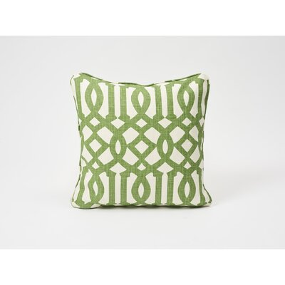 Imperial Trellis Linen Throw Pillow