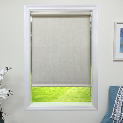 Blackout Linen Roller Shade