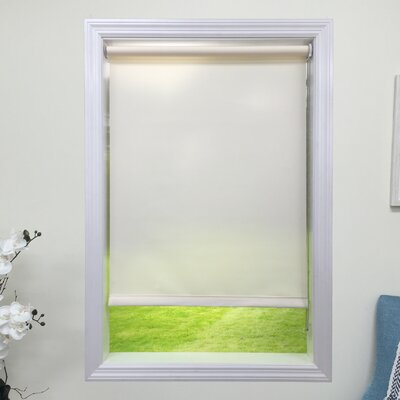 Light Cream Light Filtering Roller Shade