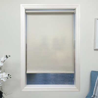 Light Gray Light Filtering Roller Shade