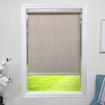 Blackout Natural Roller Shade