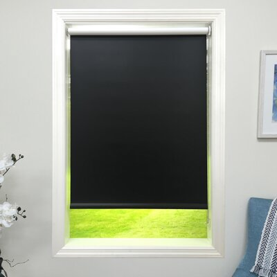 Blackout Black Roller Shade