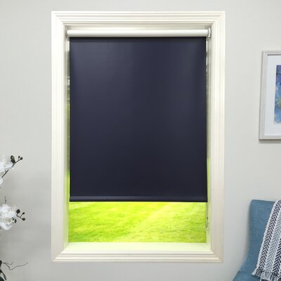Navy Blackout Roller Shade