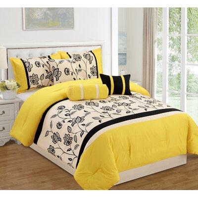 Yasmina 7 Piece Comforter Set