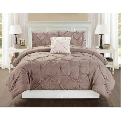 4 Piece Bedding Set Size: King