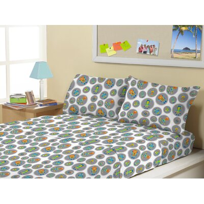 3 Piece Robot Gears Kids Sheet Sets