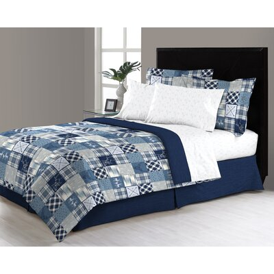 Lawrenceville Reversible Bed in a Bag Set Size: Queen