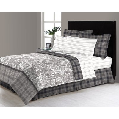 Kassidi Reversible Bed in a Bag Set Size: Twin