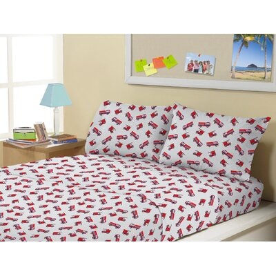 Allendale Super Soft Kids 4 Piece Sheet Set Size: Twin