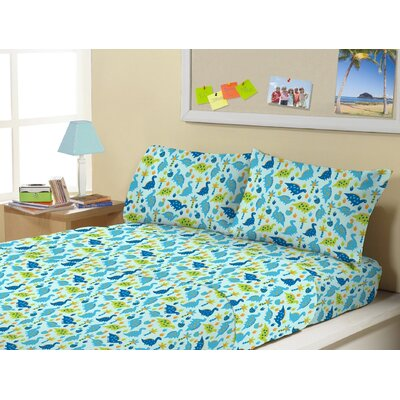Allen Park Super Soft Kids 4 Piece Sheet Set Size: Twin