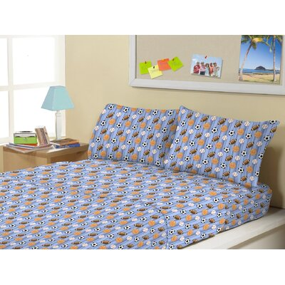 Allegan Super Soft Kids 4 Piece Sheet Set Size: Full/Double