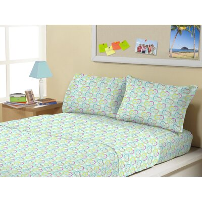 Allegro Super Soft Kids 4 Piece Sheet Set Size: Twin