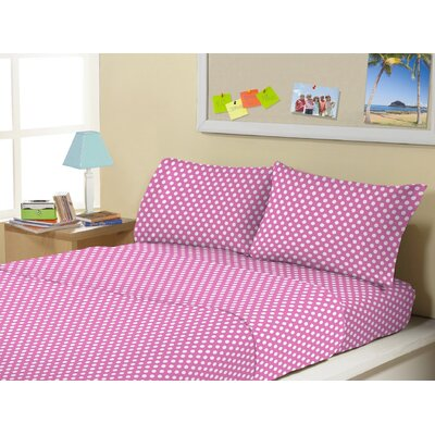 Allenside Super Soft Kids 4 Piece Sheet Set Size: Twin