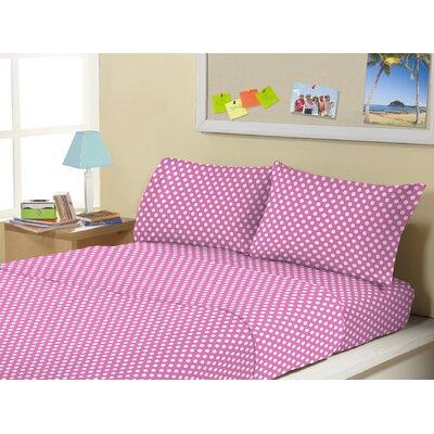 Allenside Super Soft Kids 4 Piece Sheet Set Size: Full/Double