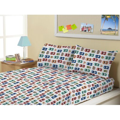 Allenbie Super Soft Kids 4 Piece Sheet Set Size: Twin