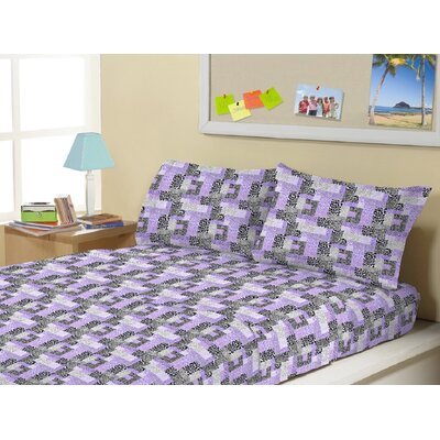 Allaroe Super Soft Kids 4 Piece Sheet Set Size: Twin