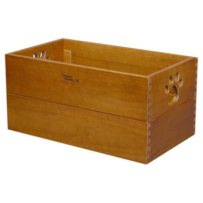 Dynamic Accents Pet Toy Box in Artisan Bronze - Size: Small at Sears.com