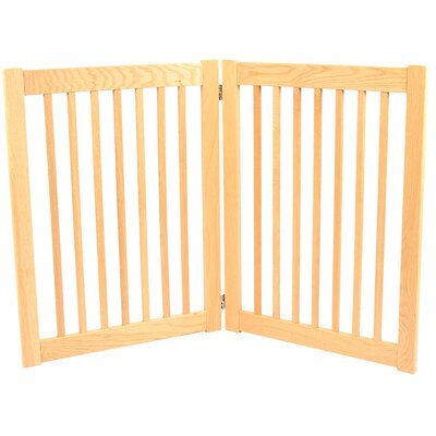 Amish Handcrafted 32 Outdoor Pet Gate Size: 2 Panel