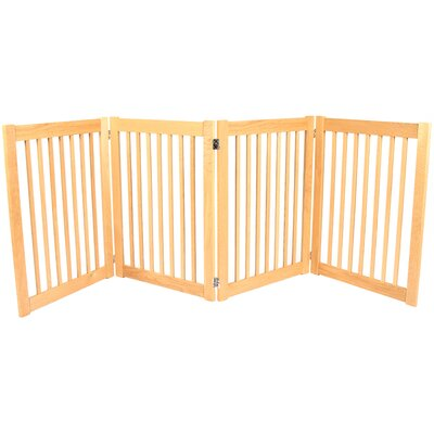 Amish Handcrafted 32 Outdoor Pet Gate Size: 4 Panel