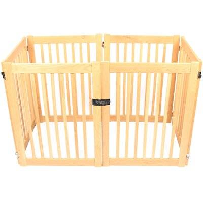 Amish Handcrafted 32 Outdoor Pet Gate Size: 6 Panel