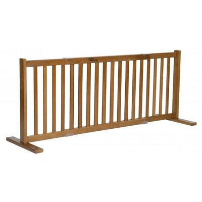 Amish Handcrafted Short Kensington 1 Panel Free Standing Gate Size: Large