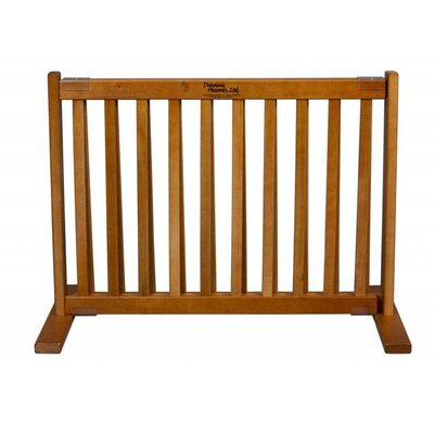 Amish Handcrafted Short Kensington 1 Panel Free Standing Gate Size: Small