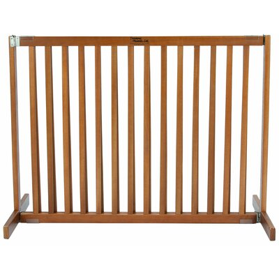Amish Handcrafted Tall Kensington 1 Panel Free Standing Gate Finish: Artisan Bronze, Size: Large