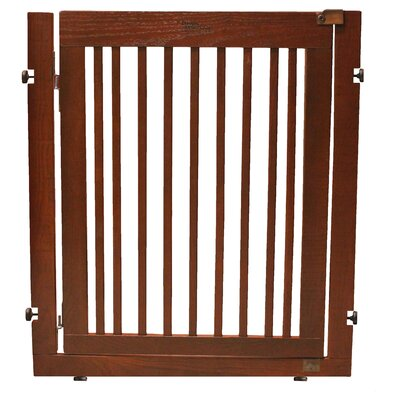 Amish Handcrafted 36 Citadel Pressure Mount Pet Gate