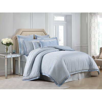 Harmony 4 Piece Duvet Set Size: Queen