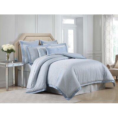 Harmony 4 Piece Comforter Set Size: King
