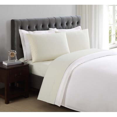 Classic Cotton Pillow Case Size: King, Color: Sweet Corn