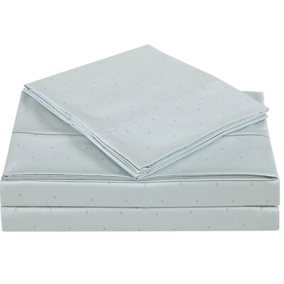 Classic 310 Thread Count Cotton Sheet Set Size: Twin, Color: Dawn Blue