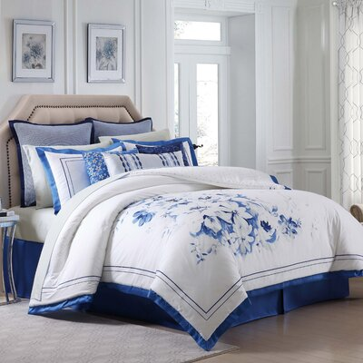 Alfresco Cotton 4 Piece Duvet Set Size: California King