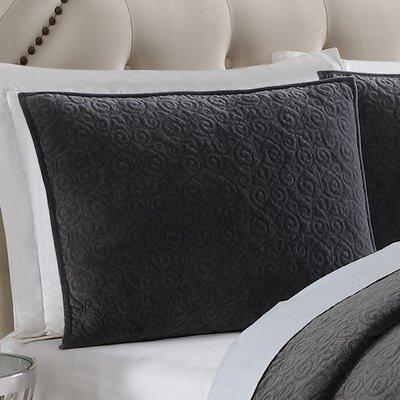 Regent Sham Size: Standard, Color: Gray
