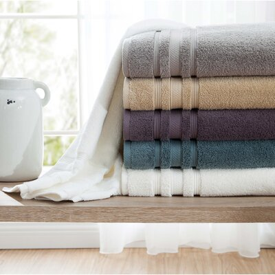 Charisma Luxe Wash Cloth Color: Bright White
