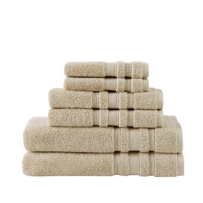 Luxe Bath Towel Color: Pale Khaki