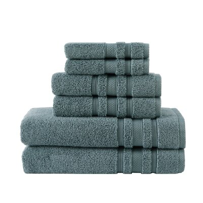 Luxe Hand Towel Color: Trooper