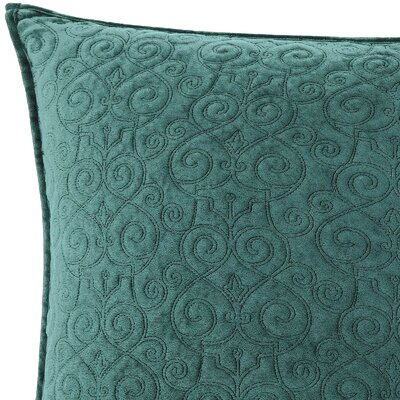 Regent Sham Size: King, Color: Emerald