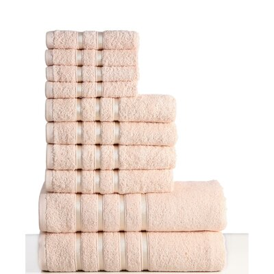10 Piece Towel Set Color: Linen