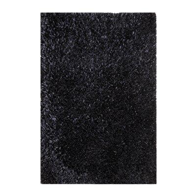 Black Area Rug Rug Size: 3 x 5