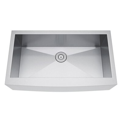 36 x 21 Farmhouse Kitchen Sink with Strainer