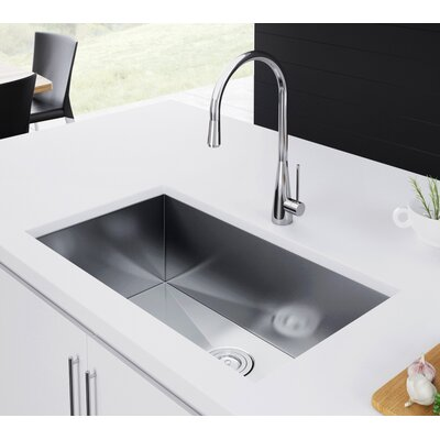 30 x 19 Undermount Kitchen Sink with Strainer