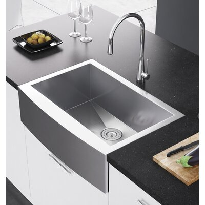 29.88 x 21 Farmhouse Kitchen Sink with Strainer