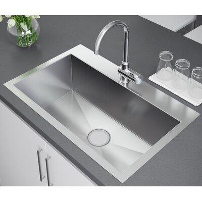 33 x 22 Drop-In Kitchen Sink