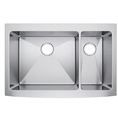 36 x 22 Double Bowl Farmhouse Kitchen Sink