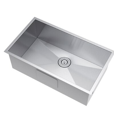 32 x 19 Undermount Kitchen Sink with Strainer